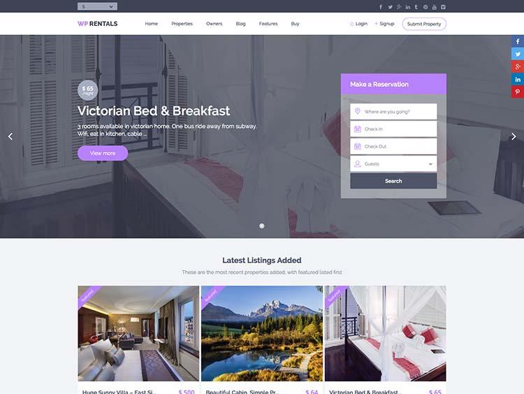 Property Management Websites Templates Image 18 Best Wordpress Themes 2018