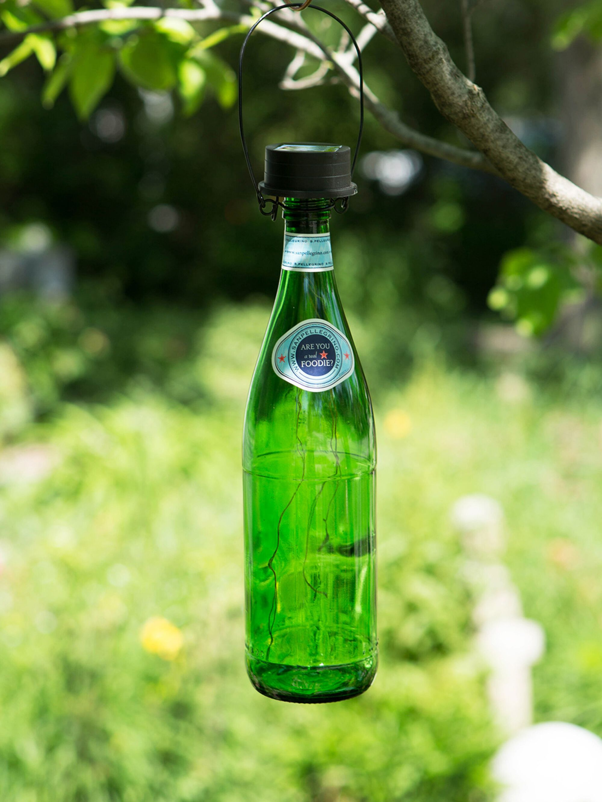 Chandelier Lamp Solar Lantern - Solar Bottle Lantern Kit - Wine Bottle Lights