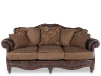 Ashley Clairemore Antique Sofa | Mathis Brothers Furniture