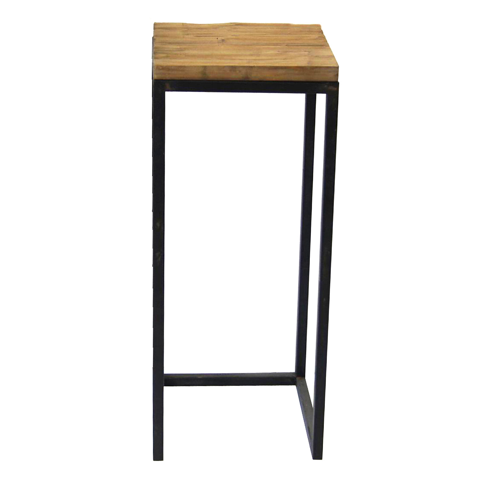Wood And Metal Plant Stand Wood Top Metal Plant Stand Large Sold Separately At Home