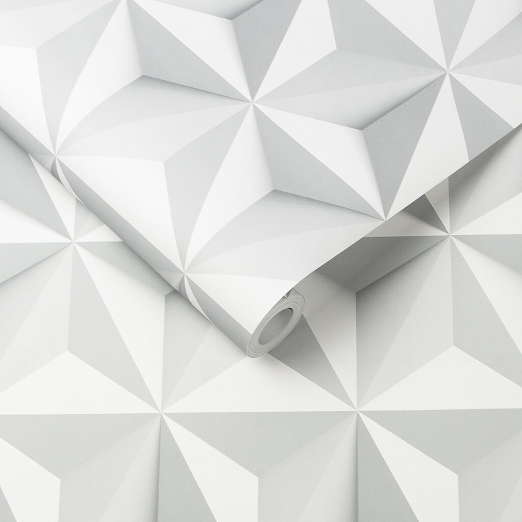 3d Geometric Wallpaper For Walls Origami Wallpaper Geometric Wallpaper Graham Amp Brown