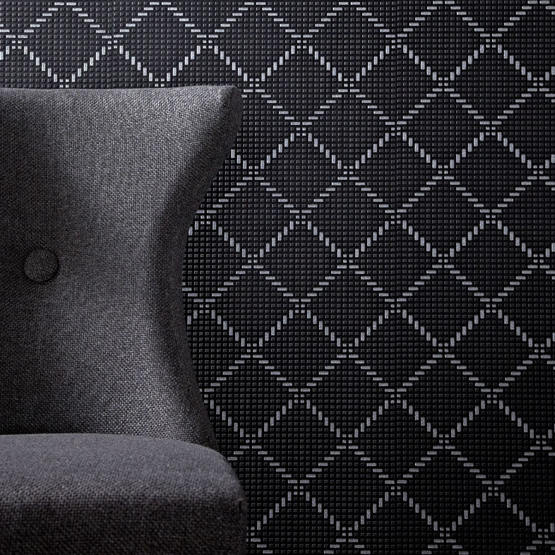 Black Silver Glitter Wallpaper Quantum Black And Silver Wallpaper Grahambrownus