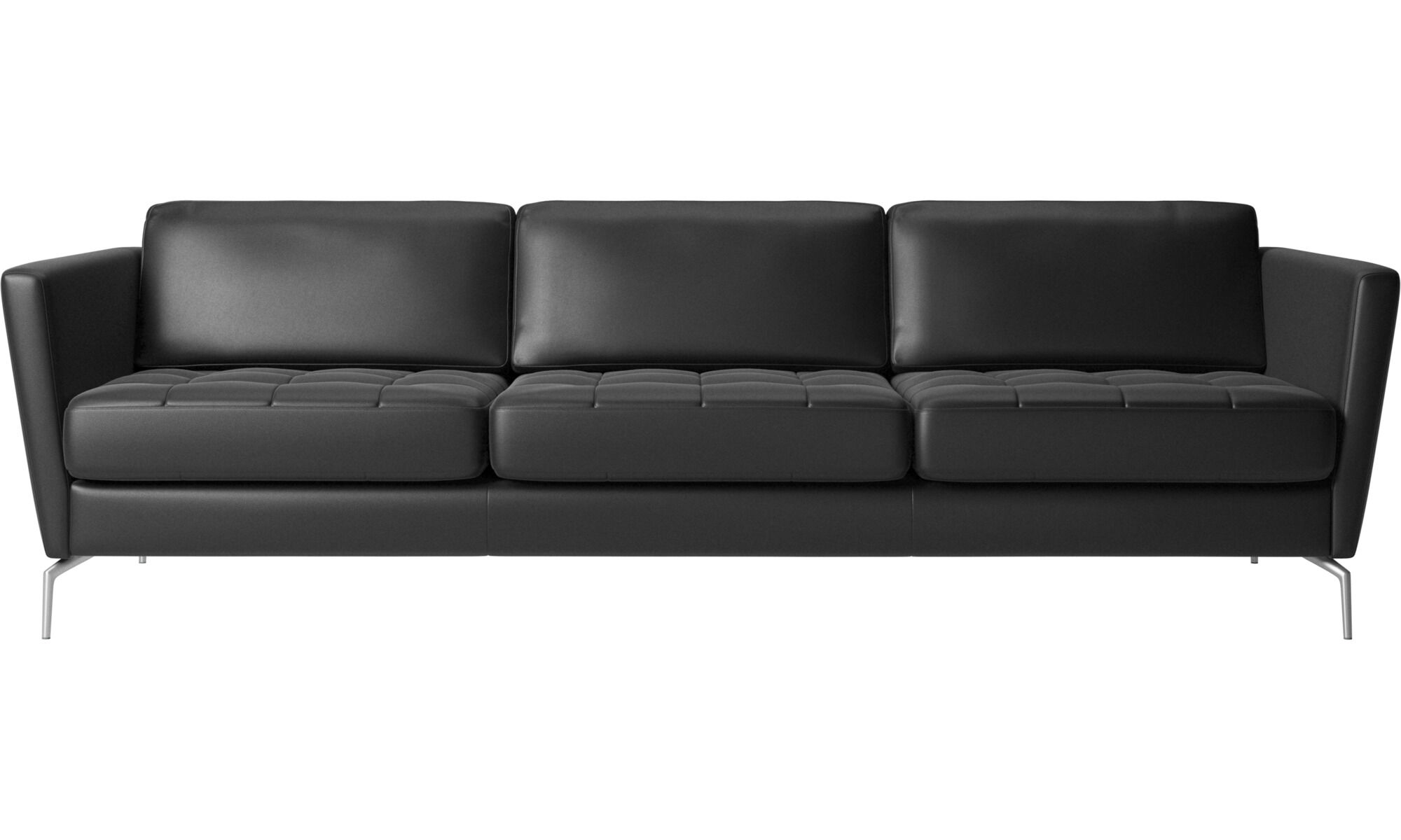 Dahlia 3 Seat Leather Sofa Leather Sofas Contemporary Sofa Design From Boconcept