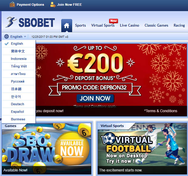 Main Sbobet Casino