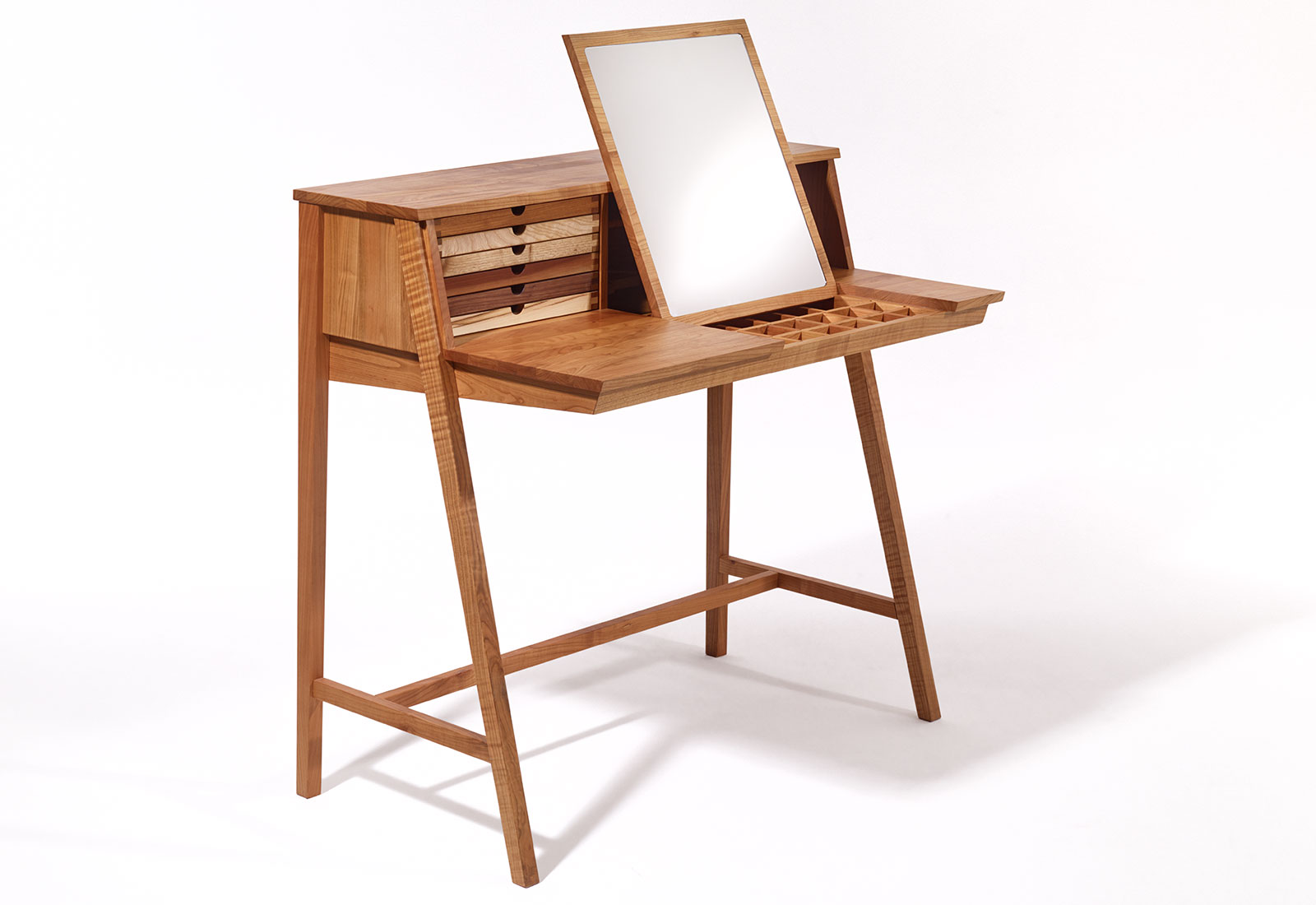 Sekretär Modern Computer Sixtematic Belle 2 1 Makeup Table And Writing Desk By Sixay