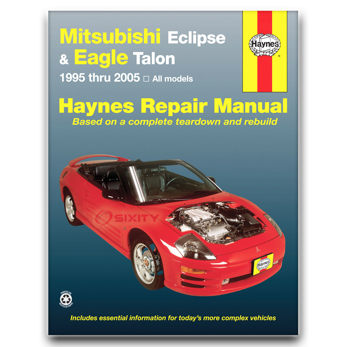 Garage Auto 95 Details About Haynes Repair Manual For 1995 2005 Mitsubishi Eclipse Shop Service Garage Vx