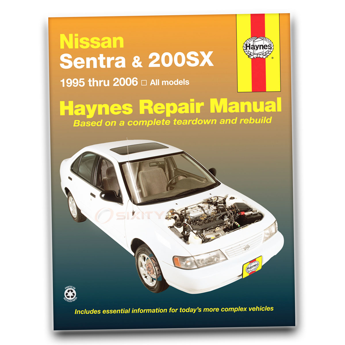 Garage Auto 95 Details About Haynes Repair Manual For 1995 1998 Nissan 200sx Shop Service Garage Book Dn