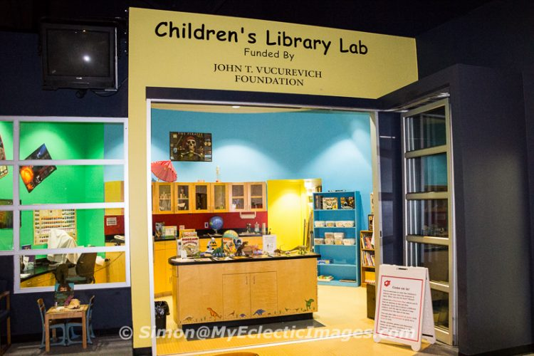 Children's Library Lab at the Journey Museum in Rapid City