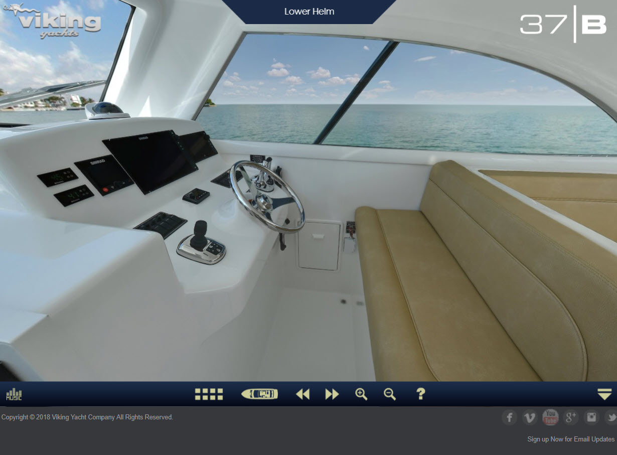 37 Tour Viking Yachts Virtual Tour Of The 37 Billfish Staten Island Yachts