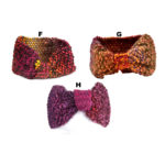 Womens Thick Colored Knit Patterned Woven Winter Headbands: Group Shot