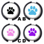 Dog Paw Stethoscope ID Badge Name Tags: Featured Image