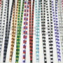 SIZZLE CITY Checkered Rhinestone Lanyards