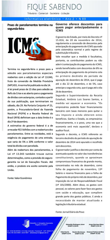 News n° 89- ano 2 -25