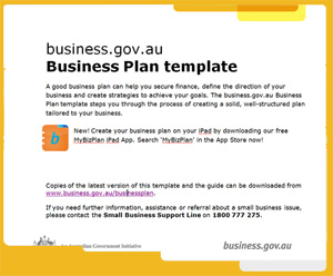 Business plan government
