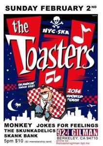 Toasters on tour!