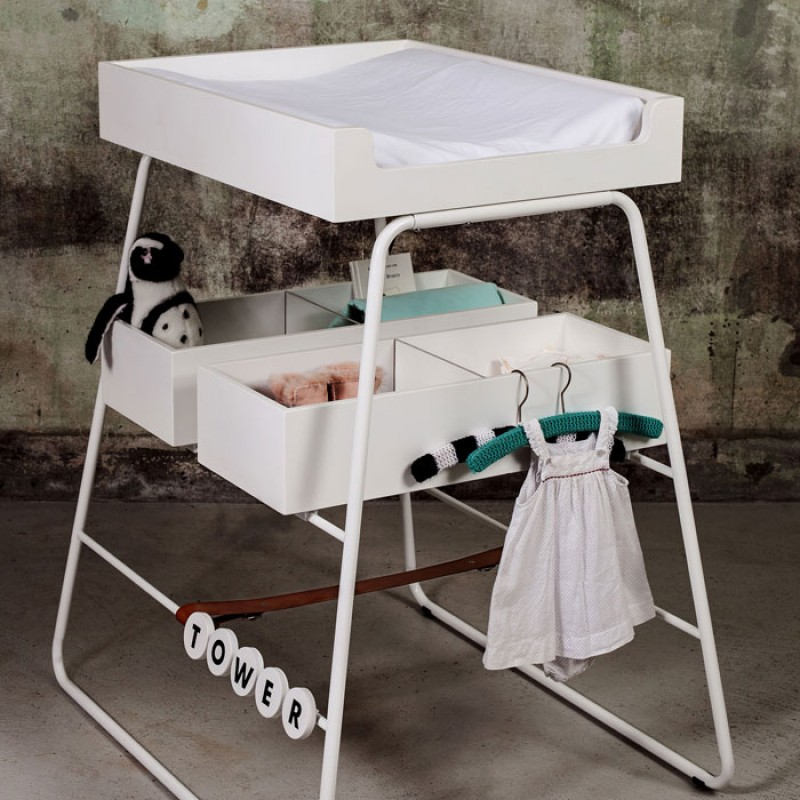 Buy Tower White Baby Changing Table Mattress Online