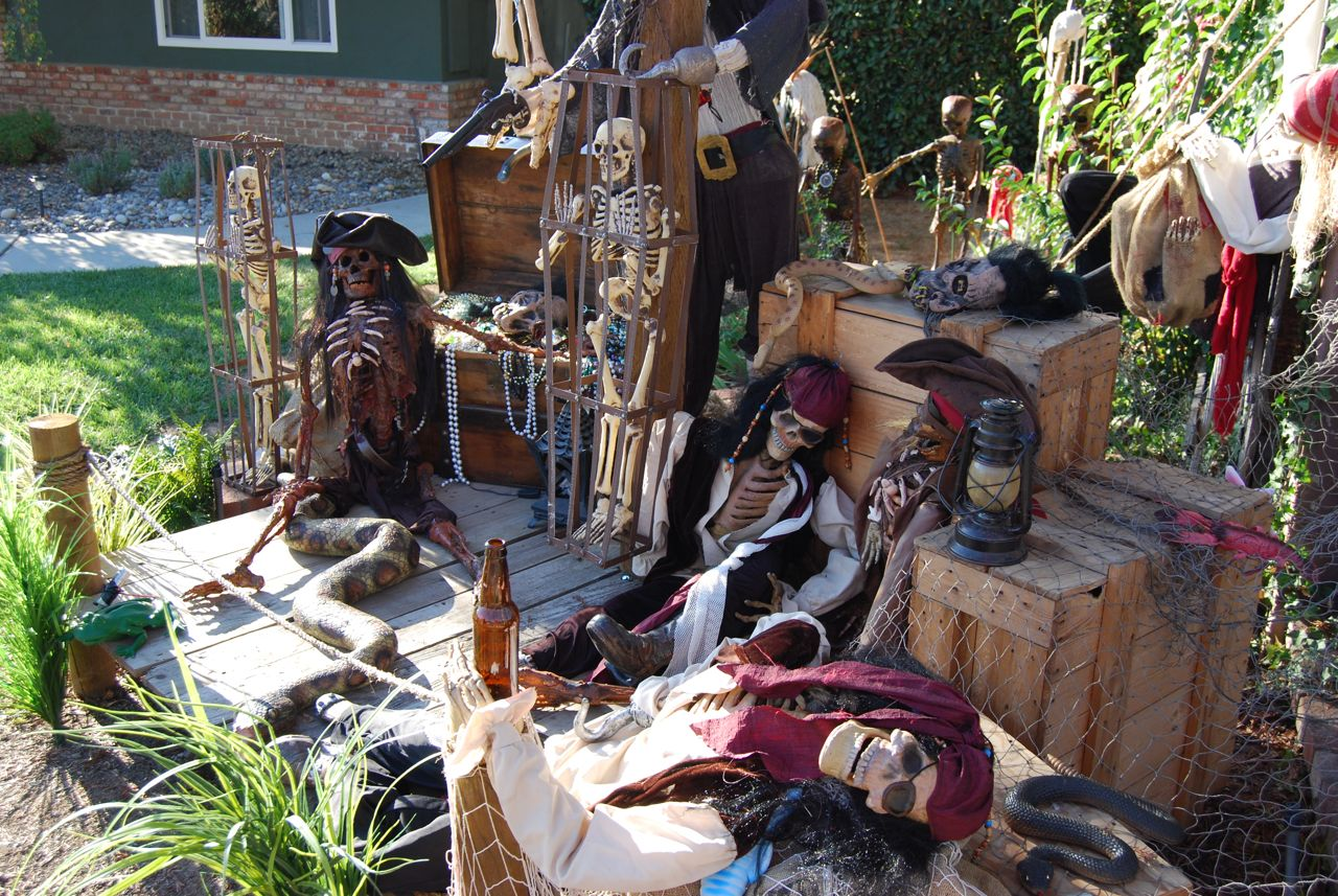 Decoration Exterieur Halloween Pirates