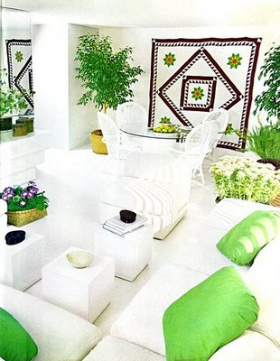 greenroom from desire to inspire (decorating with plants by Marybeth Little Weston