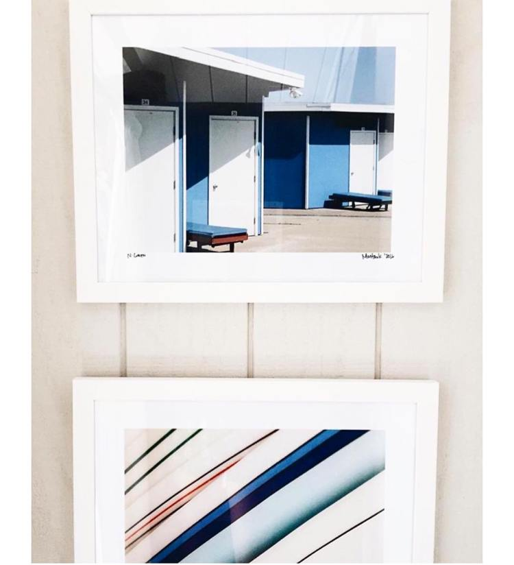 A quick regram of some of my signed prints hanginghellip