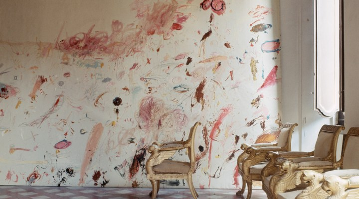 Vogue 1966 |Cy Twombly's Studio in Rome.
