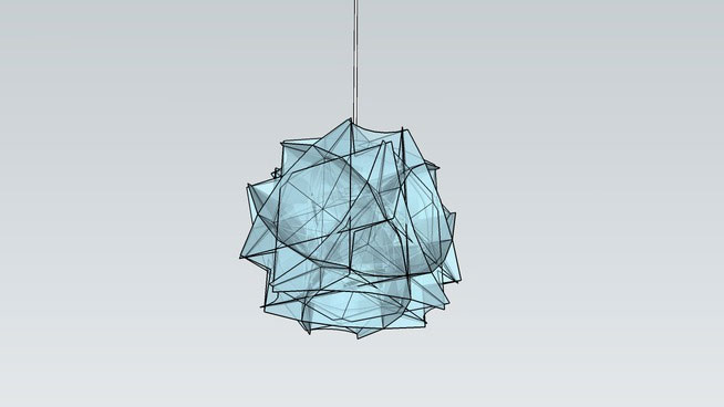 Chandelier Lamp Sketchup Components 3d Warehouse - Ceiling Lamp | Sketchup