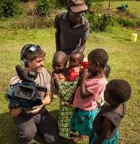 Tyler camera Kenyan kids
