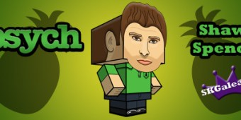 Psych Shawn Spencer Cubeecraft by SKGaleana
