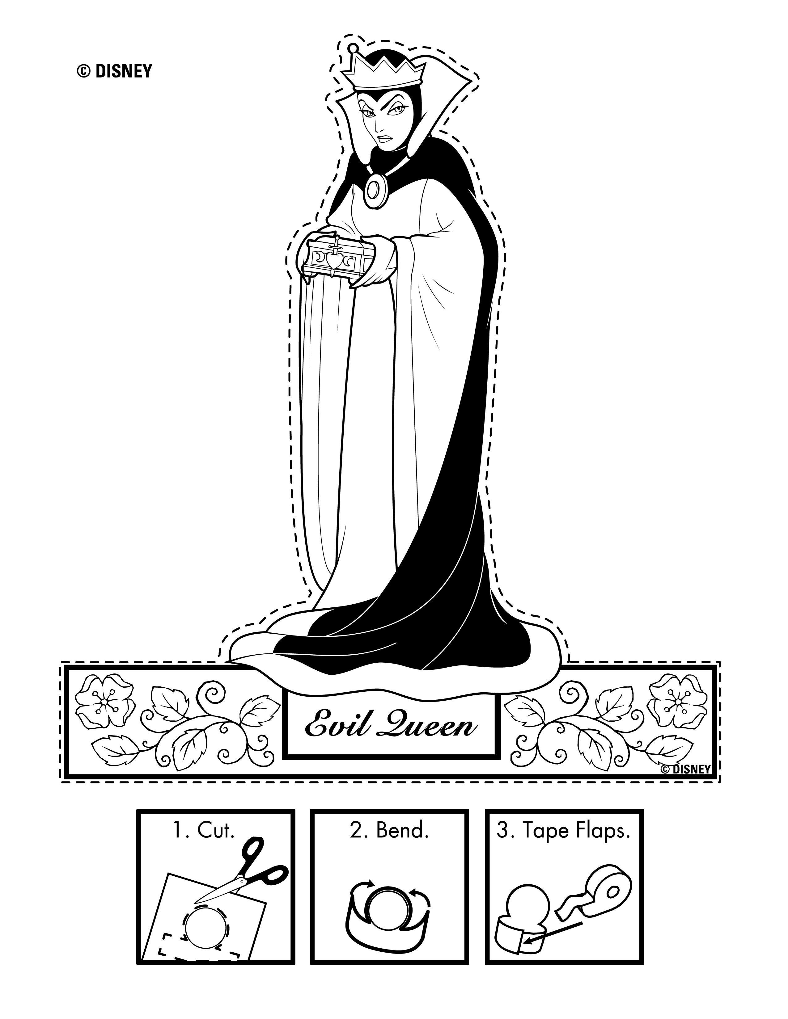 Disney Snow White Printables Coloring