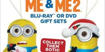 Despicable ME Holiday collection ornaments