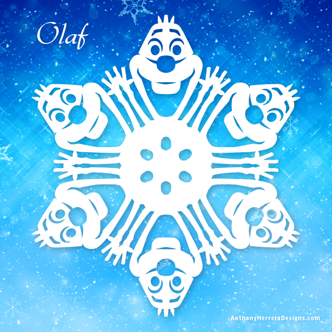 Pics Photos - Free Frozen Snowflake Template Inspired By Dis