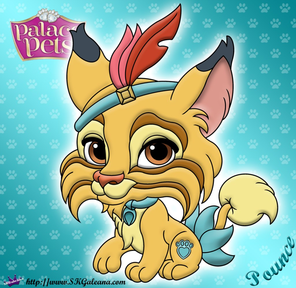 Disney Princess Palace Pet Pounce Coloring Page Skgaleana
