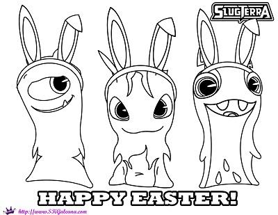 Free Slugterra Printable Easter