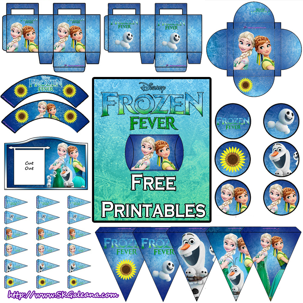 Frozen Fever Free Printables And Crafts Skgaleana