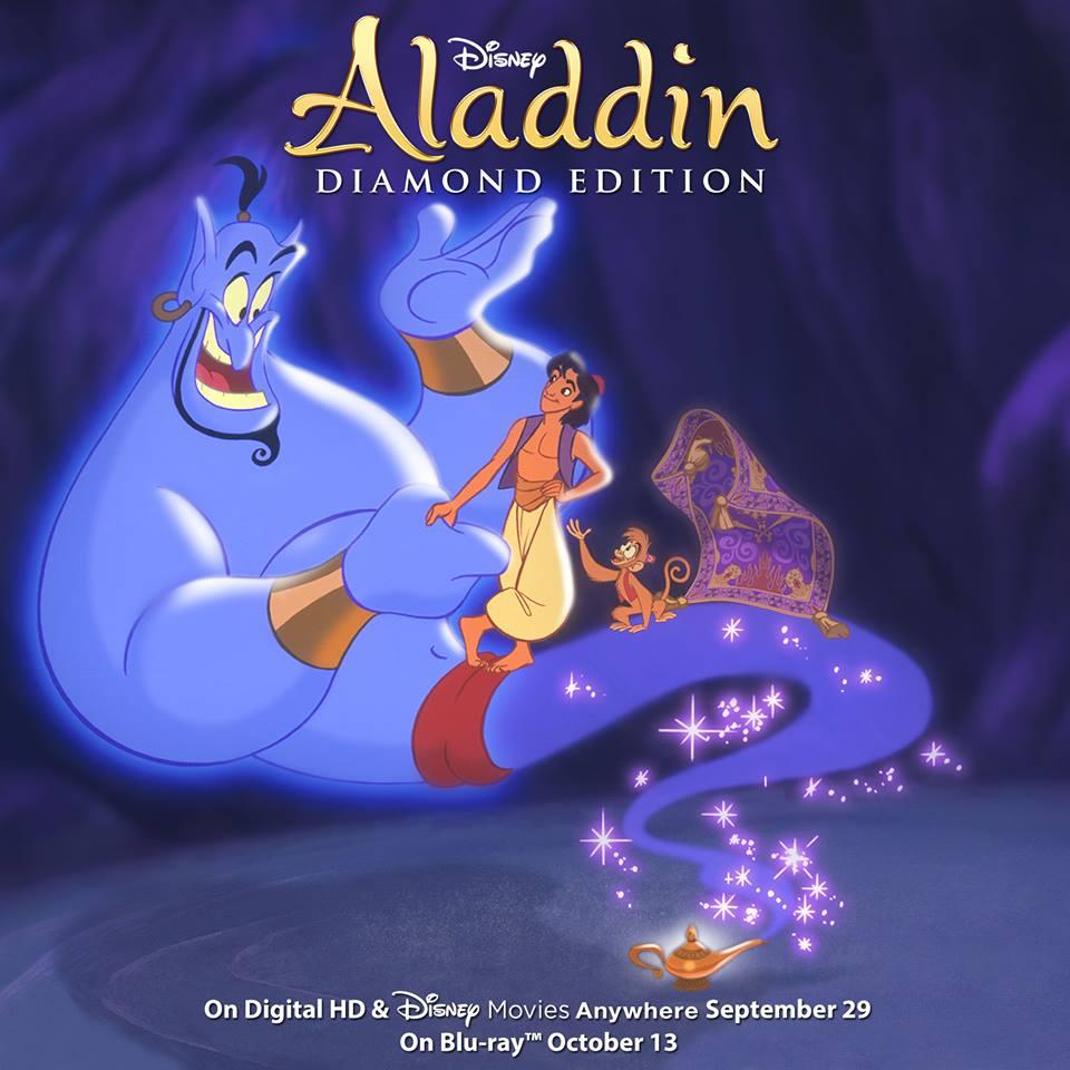 Edition Diamond: Aladdin Diamond Edition Is Coming To Blu-Ray