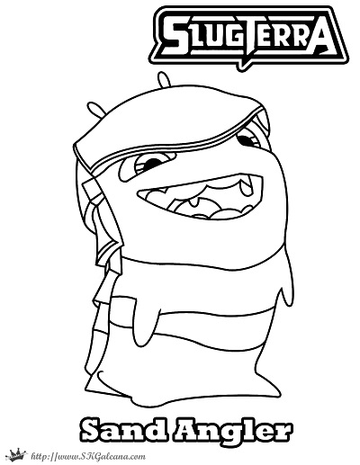 Slugterra Coloring Pages Glimmer
