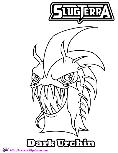 slugterra coloring pages of joules - photo#9