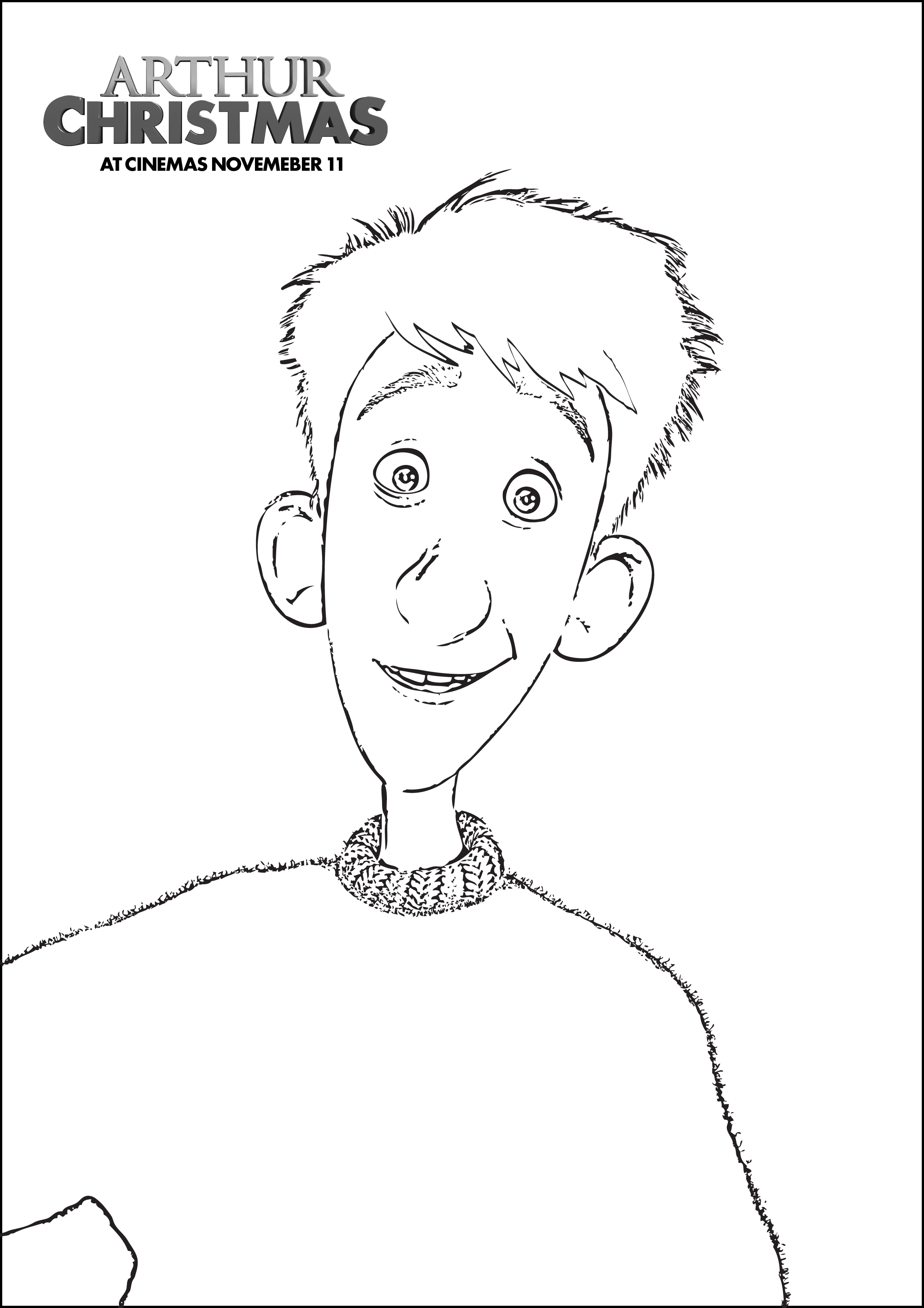 arthur thanksgiving coloring pages - photo#28