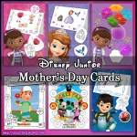 Disney Junior Mothers day cards