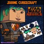 Star Wars Rebels Sabine cubeecraft download image