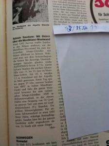 Aus: Alpinismus 1973/11