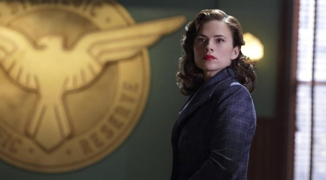 Hayley Atwell... Agent Peggy Carter of S.H.I.E.L.D.