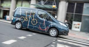 Nissan creates all-electric mobile office
