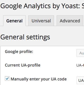 Google Analytics in WordPress einbinden mit dem Yoast Plugin