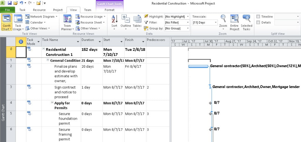 How to Create Subprojects in Microsoft Project SkillForge