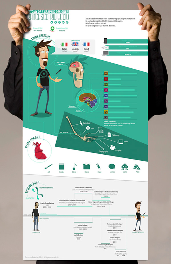 20 creative resume examples for your inspiration Skillroads