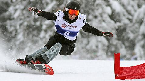 За Димова, която представя България на олимпиадата в Нагано 98, това е 11-а титла в дисциплината гигантски слалом. Снимки: Николай Дончев/BGLive