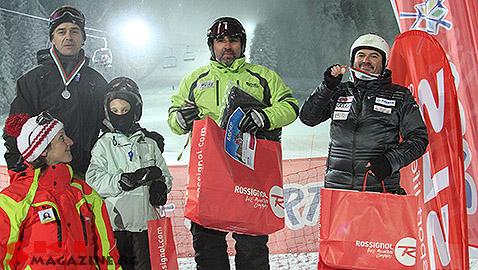Ники Нешев, Юли Стоянов и Ники Дончев Боровец 2014. Снимки: SkiMag
