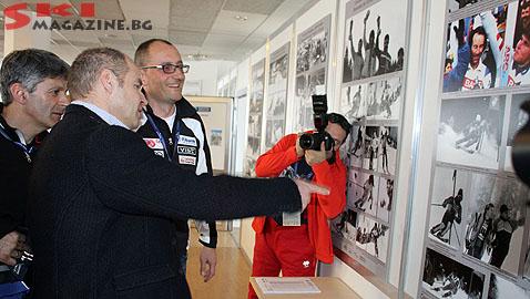 """Като гледам снимките преди 30 години, не мога да повярвам, че на тях съм с коса"""", сподели Жирардели. Снимки: BGLive/SkiMag"""
