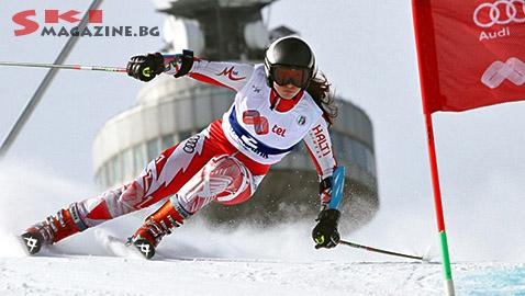 Победителката при момичетата до 16 години  Михаела Кехайова. Снимка: BGLive/SkiMag