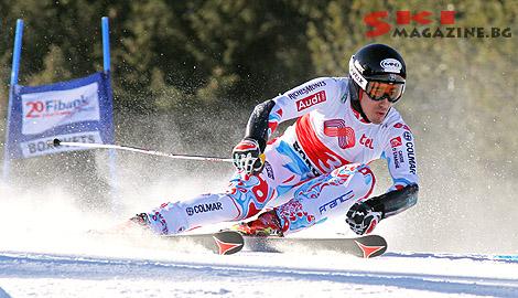 Победителят Виктор Муфа-Жанде. Снимки: Николай Дончев BGLive/SkiMag